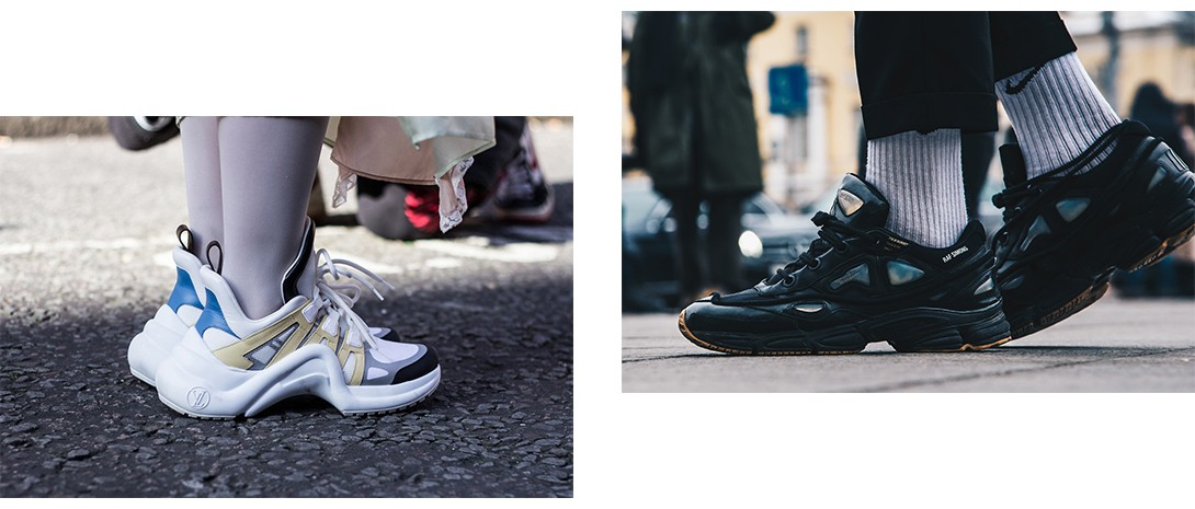 Chunky Sneakers Trend Forecast 2018