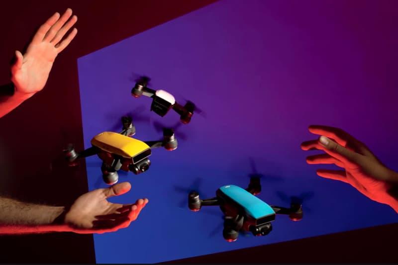 "DJI ""Spark"" Mini Drone Technology Visuals"