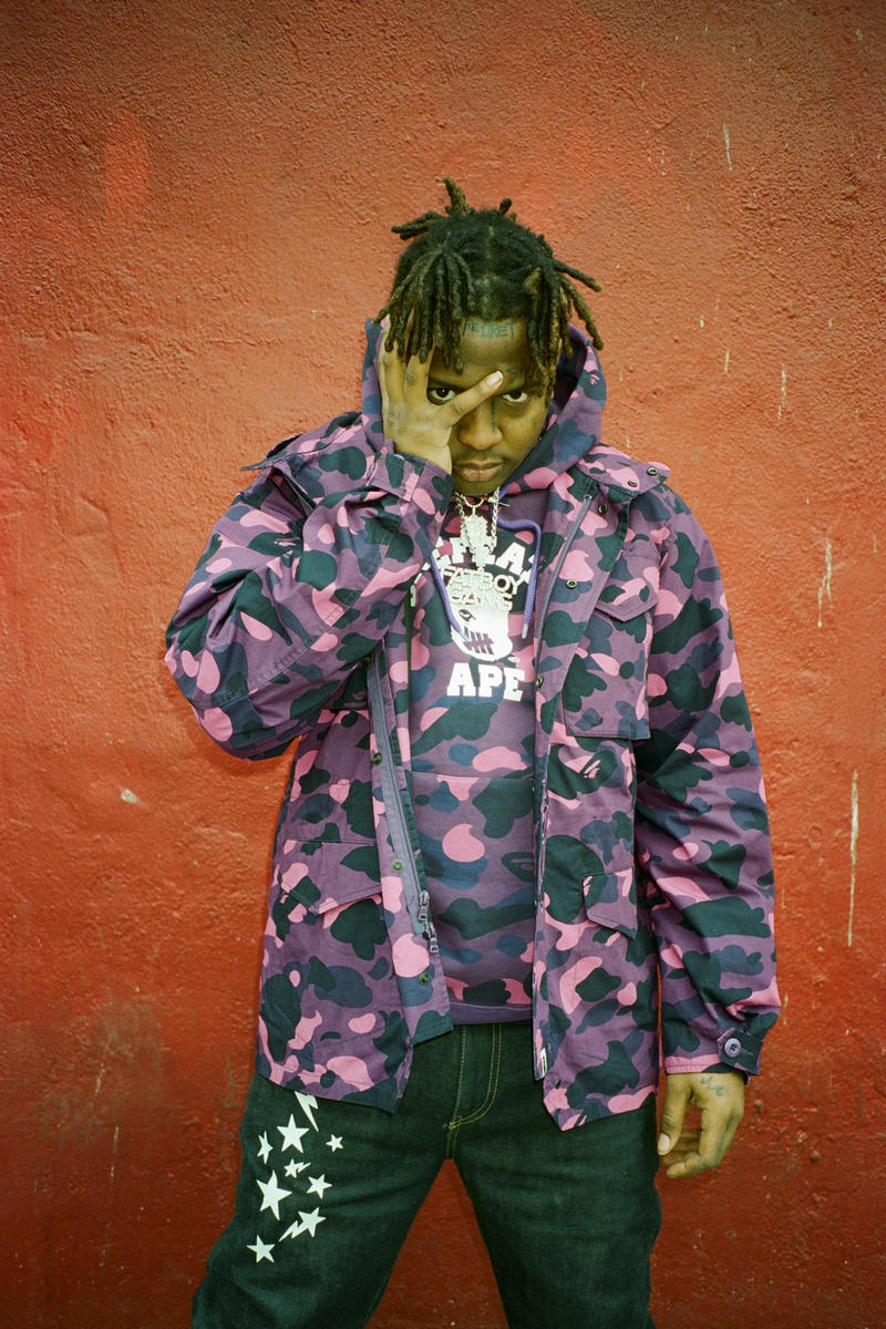 Undefeated BAPE Spring/Summer 2018 collaboration Lookbook ski mask slump god collection