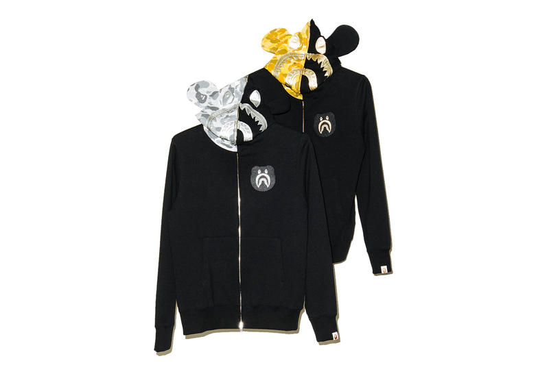 BAPE x Bearbrick Medicom Toy BE@RBRICK Collection Undefeated Hoodies Tees T-Shirts Available La Brea