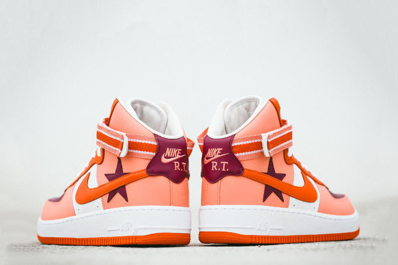 hot sale online 3de9c ac0eb A Closer Look at the Riccardo Tisci x Nike Air Force 1 High Pt.2