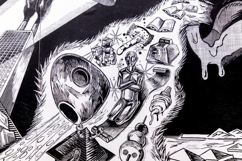 Art Basel Hong Kong 2018 kaws jeff koons Andy Warhol Pablo Picasso Jean-Michel Basquiat Takashi Murakami Hiroshi Jenny Holzer Keiichi Tanaami Hajime Sorayama George Condo Damien Hirst  David Zwirner Gallery sculptures paintings murals  Gagosian Gallery  Shepard Fairey  Os Gemeos  Perrotin Gallery