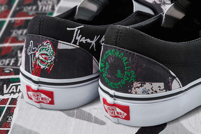 A Tribe Called Quest Vans collaboration Release Date info purchase sneakers price era sk8-hi slip on old skool