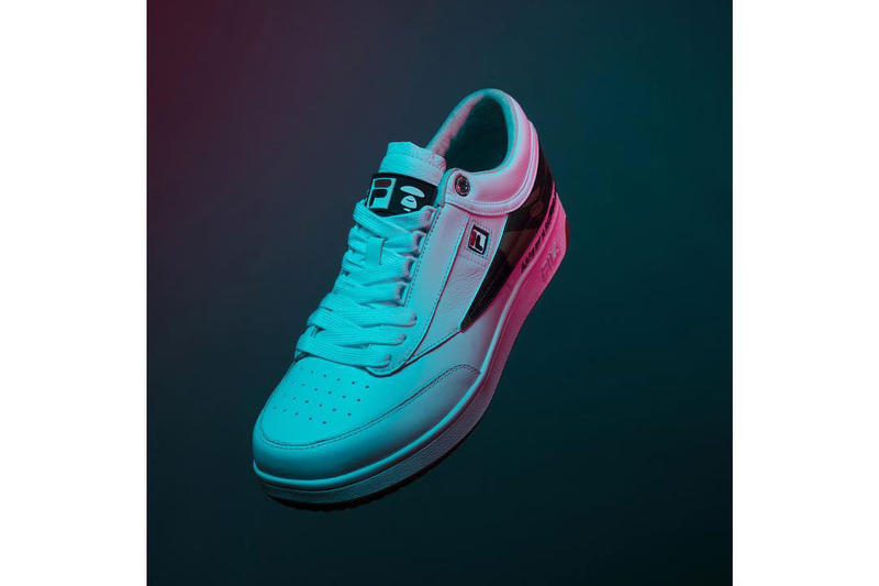 AAPE by A Bathing Ape  FILA Collaboration Sneaker BAPE Original Tennis