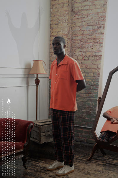 Ad Idem Do It in the Dark Lookbook Capsule Collection Workwear