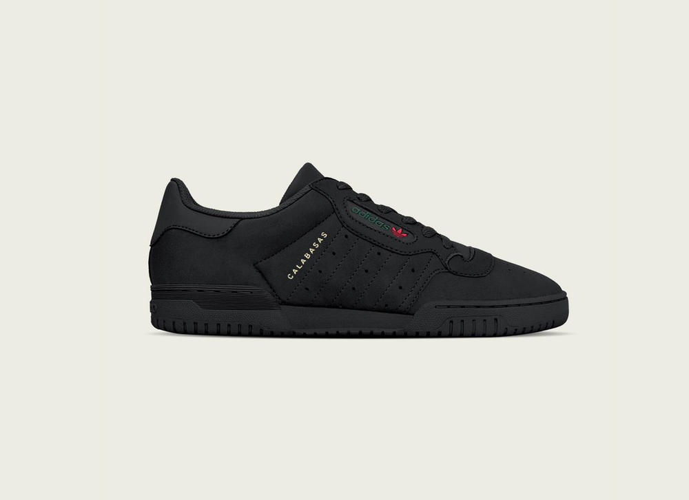 "adidas YEEZY Powerphase ""Core Black"" Kanye West Yeezy Supply"