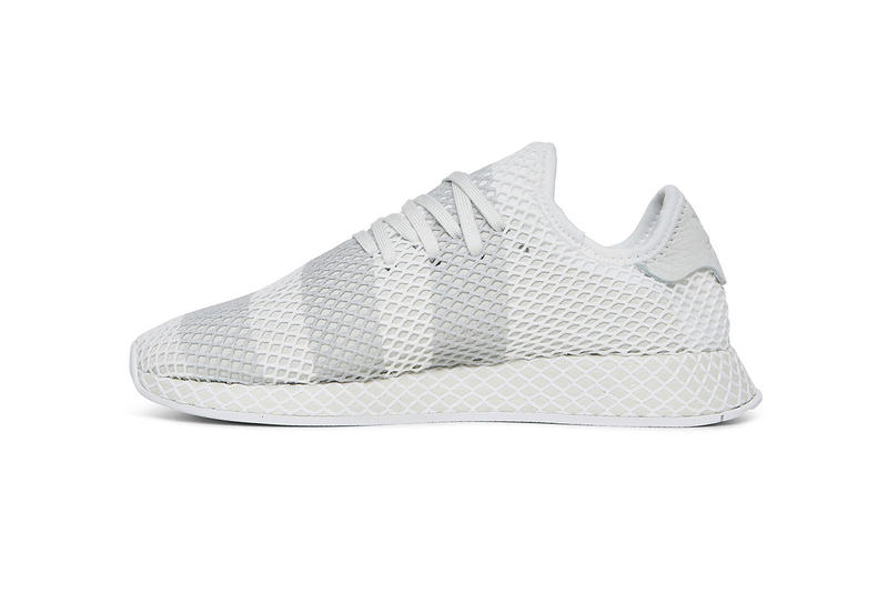 cheap for discount 2cd47 9f589 adidas Consortium Deerupt white grey three stripes march 2018 release date  info sneakers shoes footwear slam