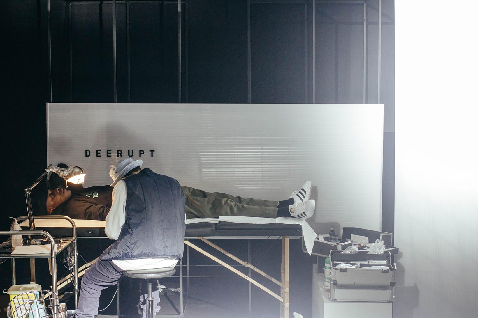 adidas Originals Deerupt Paris Launch