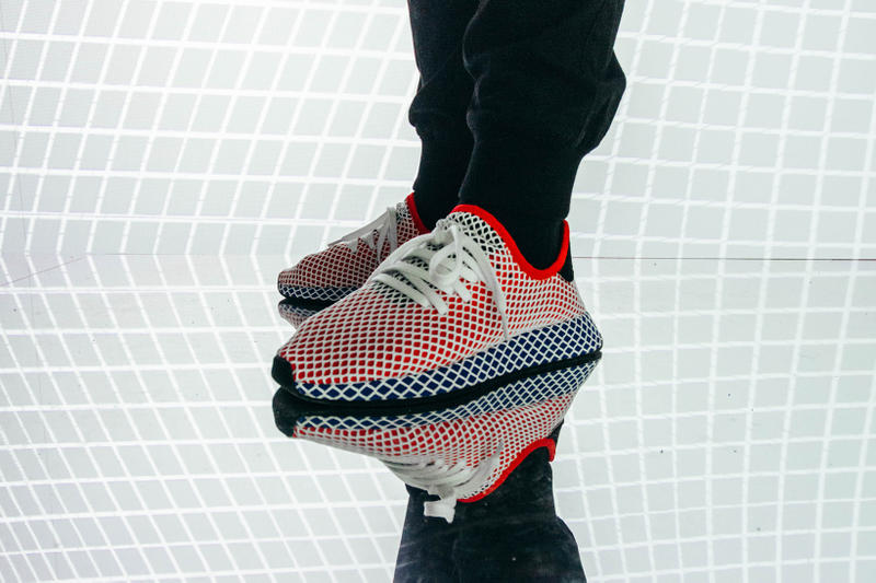 adidas Originals Deerupt Paris Launch Party Grid Brodonksi France Justice sneaker shoe footwear red blue white black Brodinski Justice