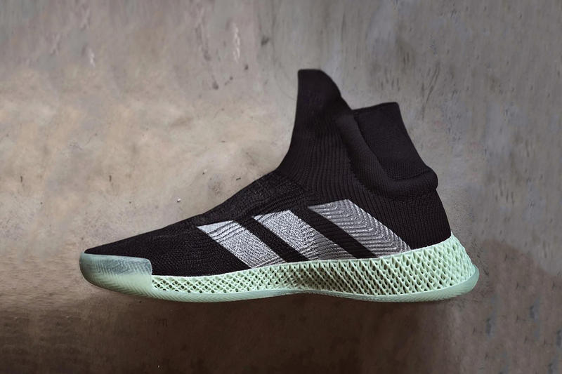 new concept 362f2 0c082 adidas FUTURECRAFT 4D Laceless Basketball Sneaker shoe marc dolce black  footwear release date info drop