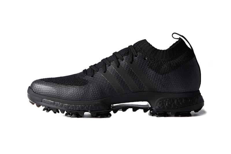 Adidas Black Boost Golf Footwear Release Hypebeast