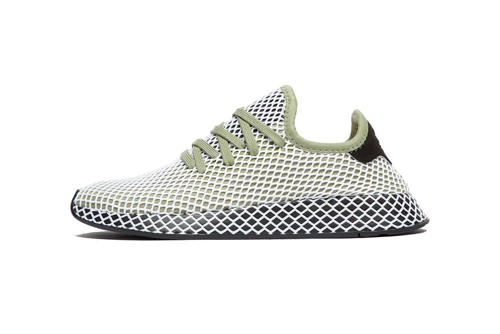 adidas Originals Deerupt Green march 2018 spring summer release date info drop sneakers shoes footwear jd sports