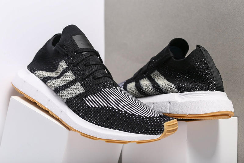 adidas Swift Run Primeknit Black/Gum Release purchase available now
