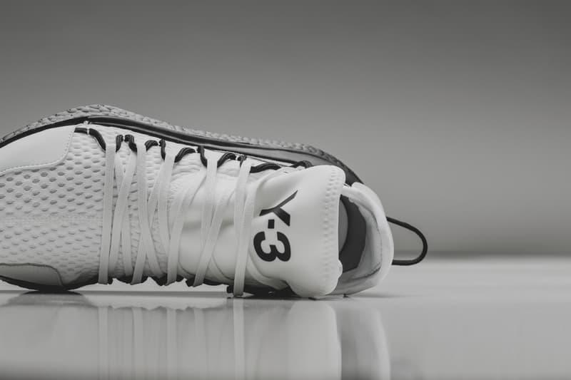 adidas Y3 Kusari White Black colorway monochrome Yohji Yamamoto Boost sneakers footwear release date info drop sneakers shoes footwear