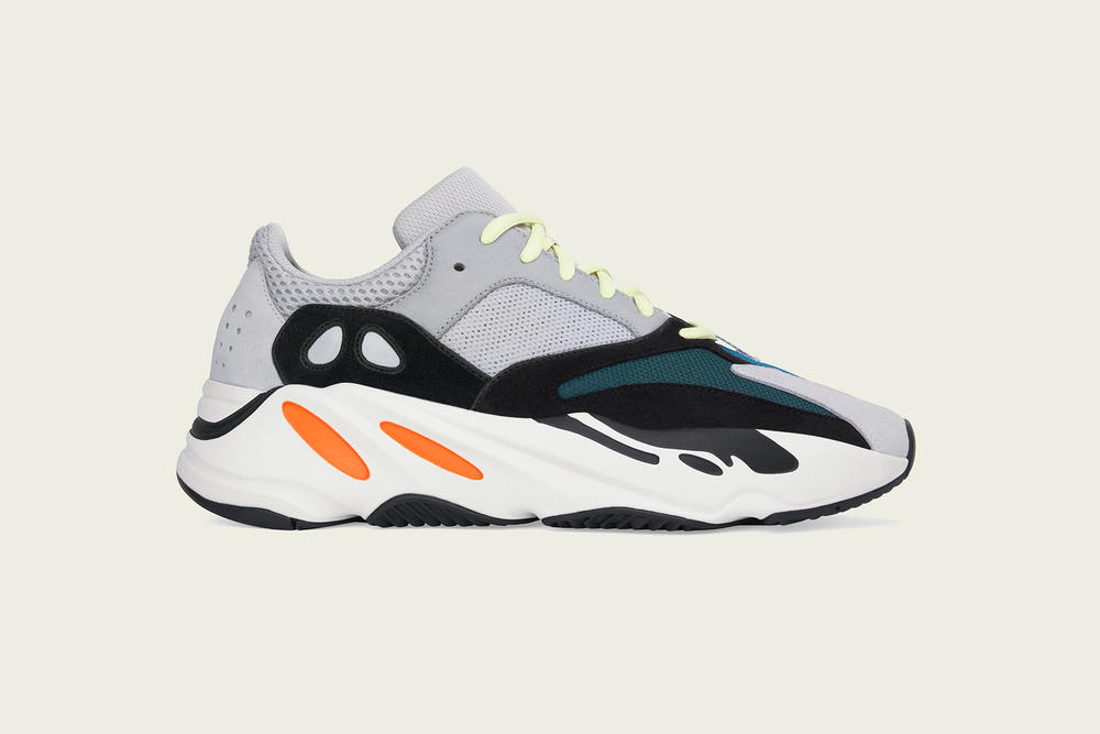 adidas YEEZY BOOST 700 Restock Kanye West footwear Multi Solid Grey/Chalk White/Core Black
