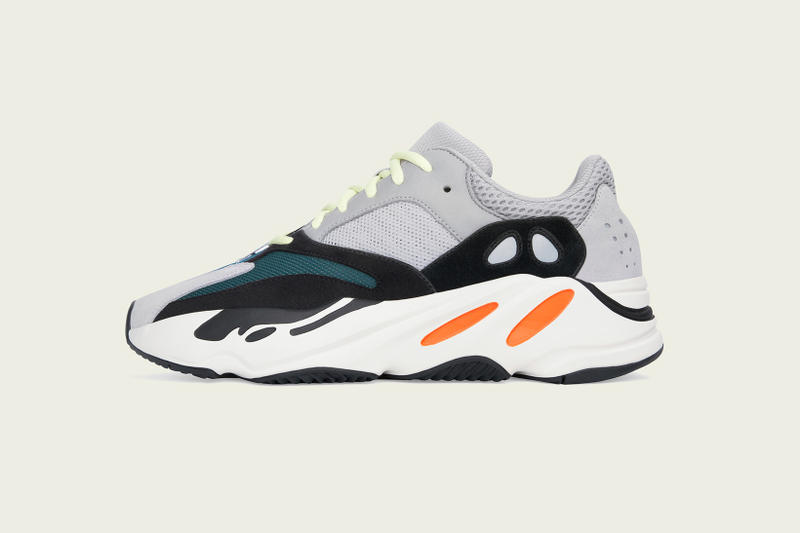 adidas YEEZY BOOST 700 Restock Kanye West footwear Multi Solid Grey/Chalk White/Core Black