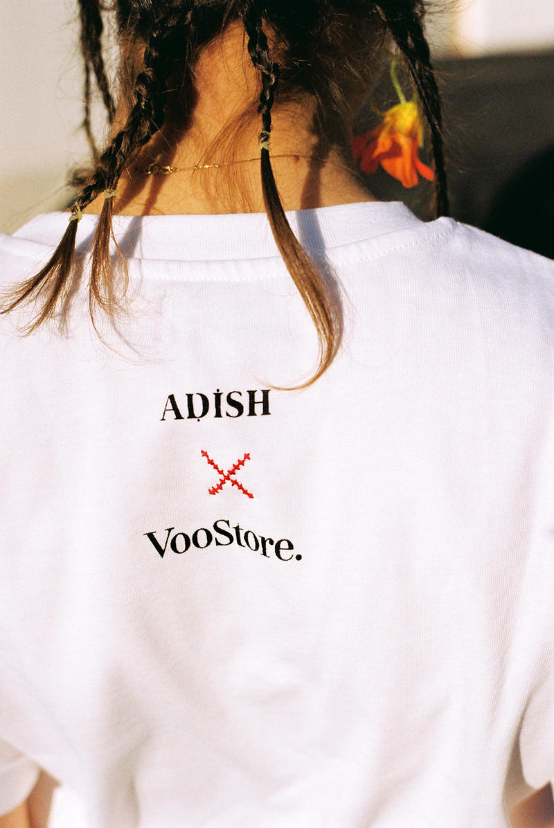 ADISH Voo Store Collaboration t shirt tee releae date info drop march 2018