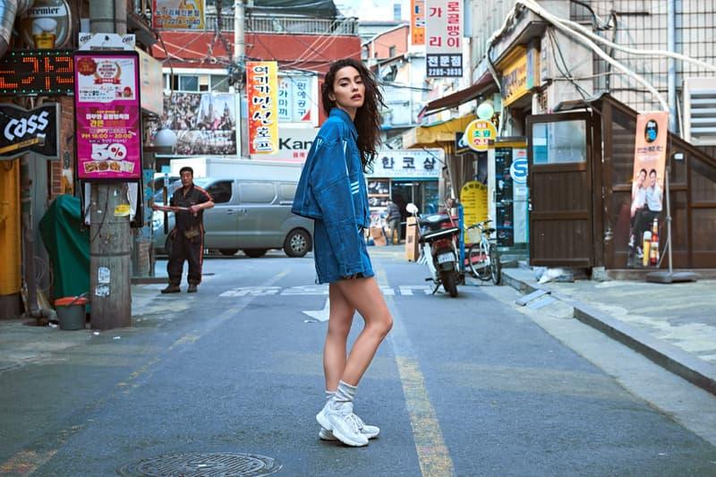 Adrianne Ho Supreme adidas Originals Seoul Street Style Street Snaps