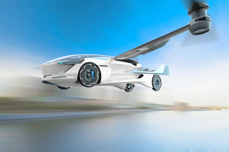AeroMobil Flying Electric Car Concept