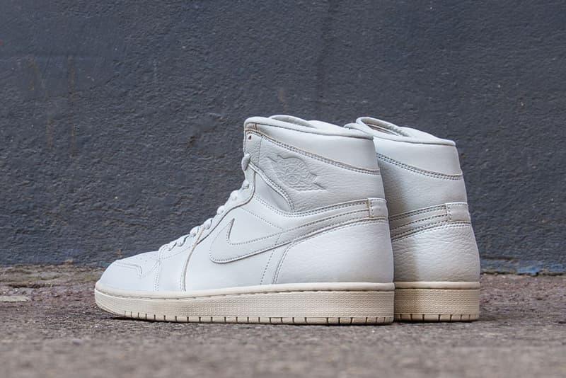 Air Jordan 1 High Premium Pure Platinum Jordan Brand release info sneakers footwear