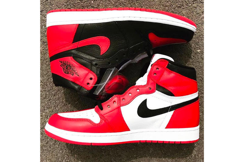 cec3a24b3aa20a Air Jordan 1 Homage To Home Banned Chicago black red sneakers footwear