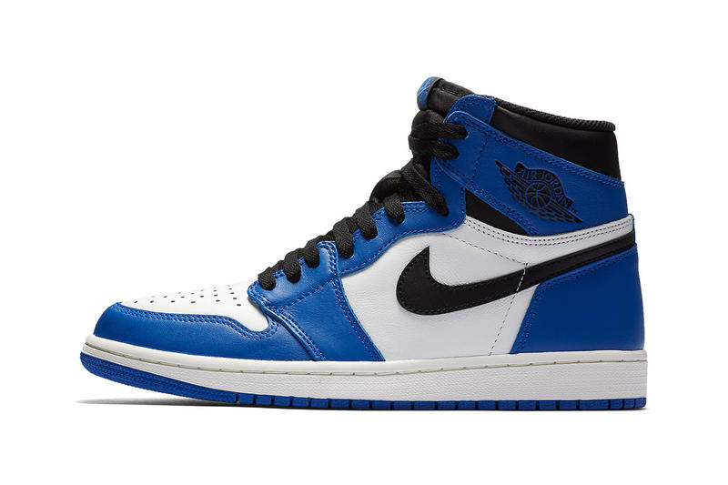 fa828f1ddd8ef5 Air Jordan 1 Game Royal Official SNKRS Release Blue black basketball Jordan  brand