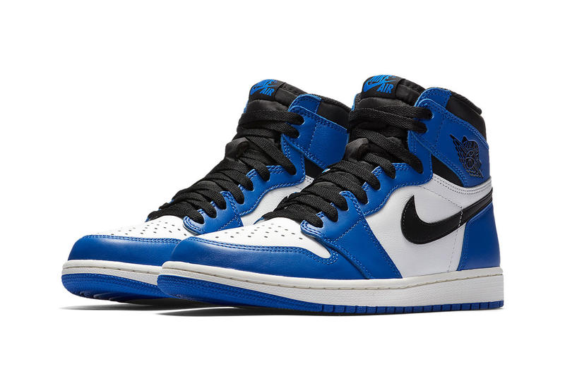 e2b3f4ca30f50e Air Jordan 1 Game Royal Official SNKRS Release Blue black basketball Jordan  brand