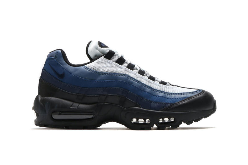 Nike air max 95 sand obsidian navy blue spring summer 2018 drop release date info new colorway 749766-028 749766-108