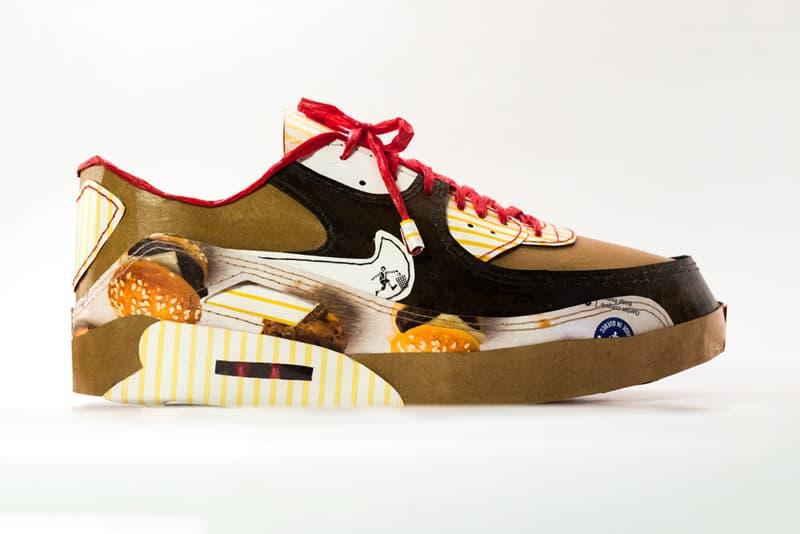 smoluk nike air max day handmade shoe sculptures 1xrun art artwork