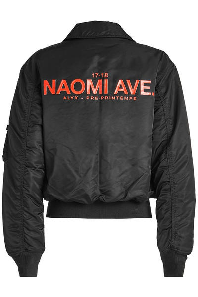 Alyx Alpha Industries Naomi Ave Bomber Jacket