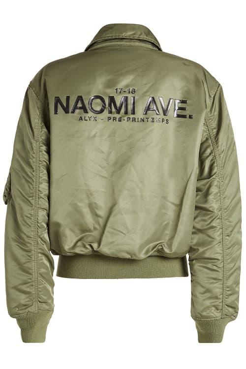 Alyx Alpha Industries Naomi Ave Bomber Jacket