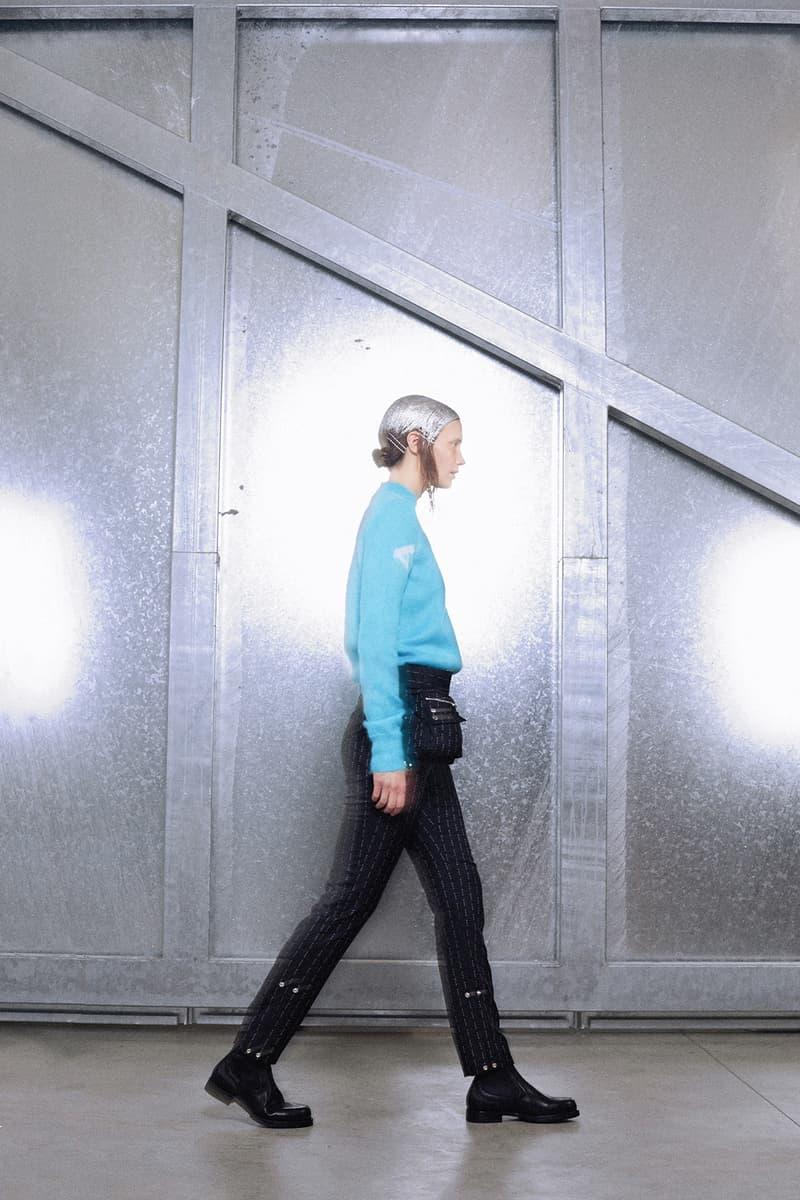 ALYX fall winter 2018 collection rainmaker lookbook chest rig rollercoaster buckle belt womenswear