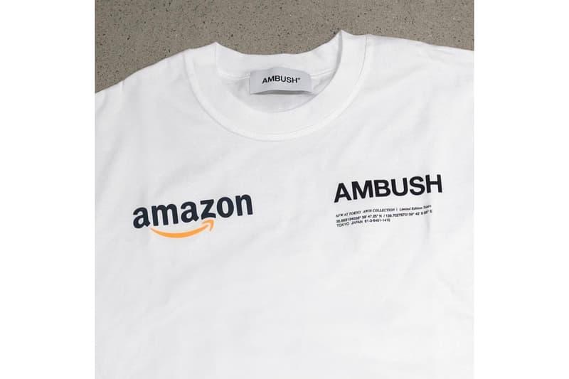 AMBUSH® Amazon Collaboration Tokyo Fashion Week Hoodie T-Shirt Capsule Collab Jewellery Yoon Chain Necklace BAPE Billionaire Boys Club
