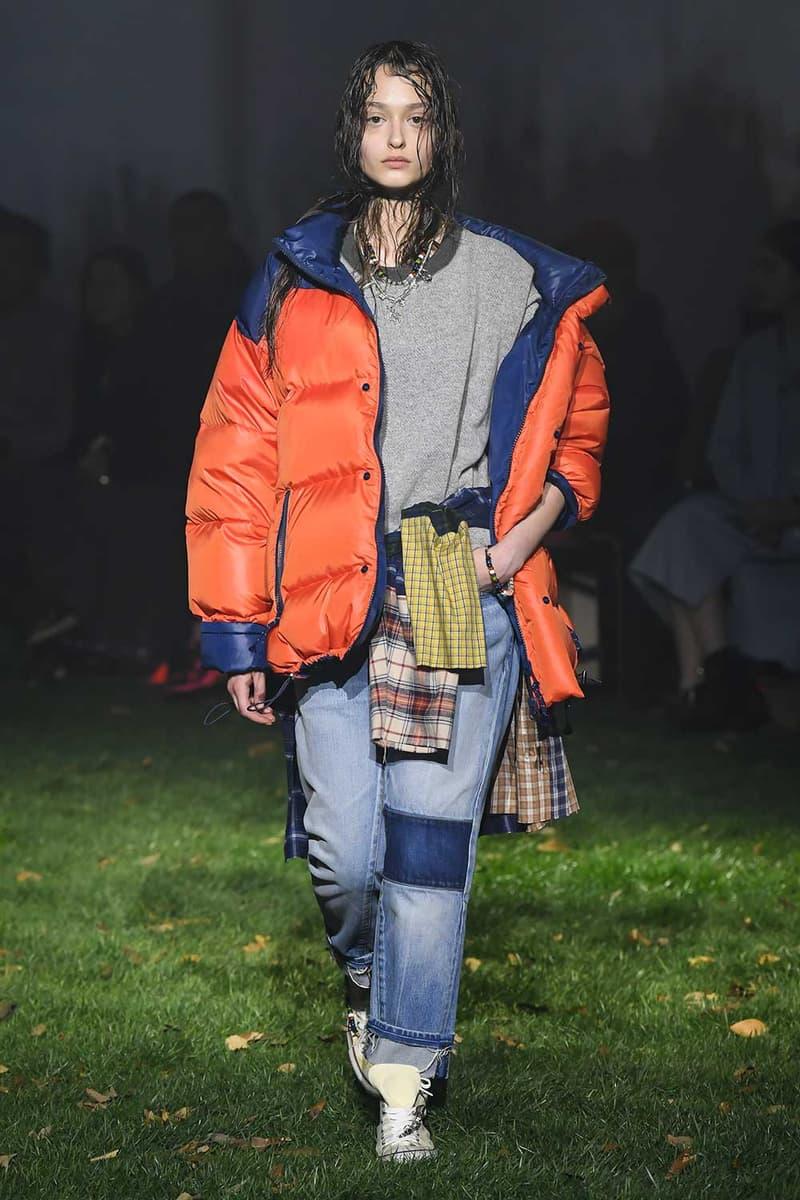 AMBUSH Fall Winter 2018 Runway Show amazon tokyo fashion week