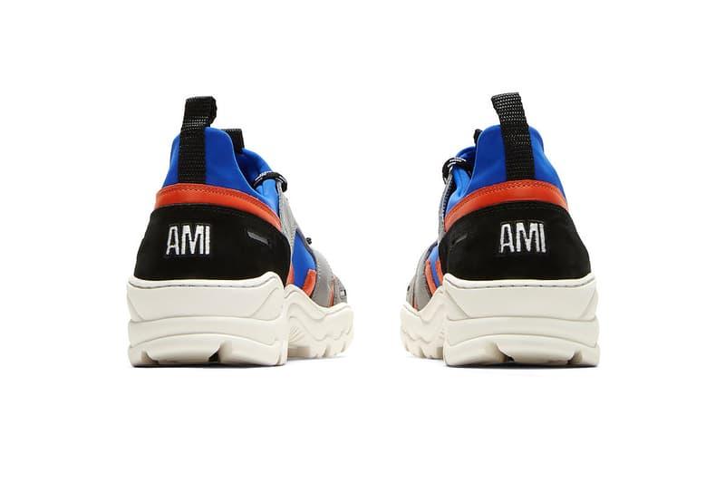AMI Drops New Contrast Neoprene Runner Spring Summer 2018 footwear sneakers