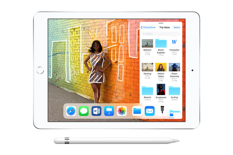 Apple 9 7 Inch iPad Apple Pencil Chicago support schools classrooms students march 27 2018 release date info drop