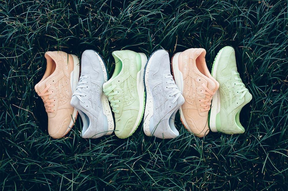 ASICS GEL Lyte III Easter Pack 2018 march april release date info drop sneakers shoes footwear politics
