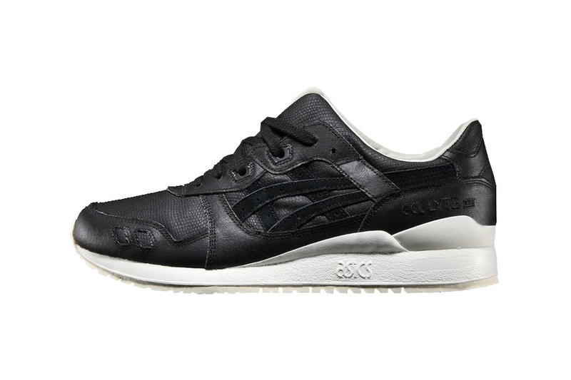 ASICS GEL-Lyte III Reptile Pack Collection Classic Sneakers Shoes Trainers Off White Black Colorway Available Purchase $180 USD Dollars
