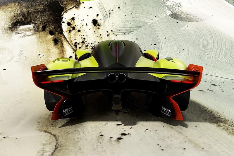 Aston Martin Valkyrie AMR Pro geneva motor show 2018 track only update racer racecar