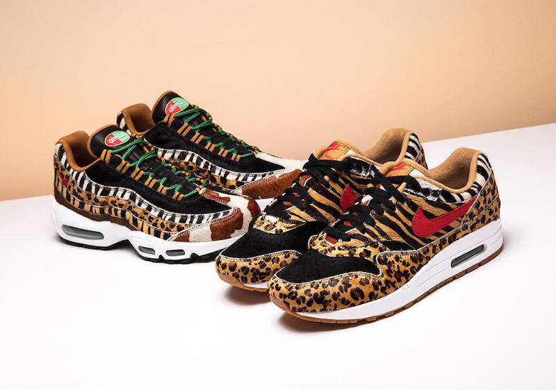 "A Closer Look at the atmos x Nike ""Animal Pack"" 2.0"
