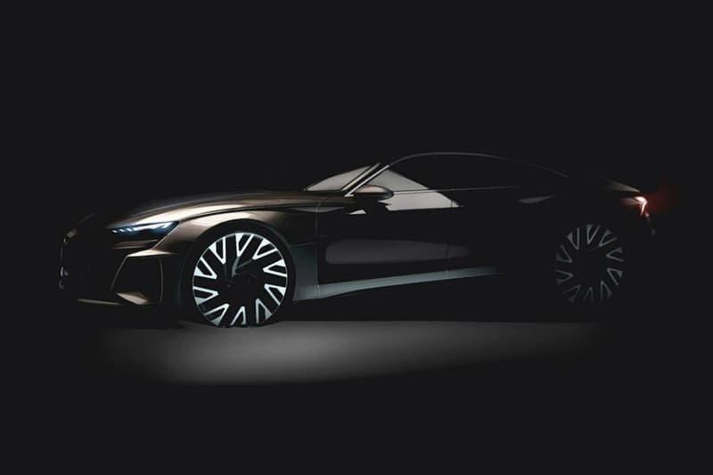 Audi Four Door E Tron GT 2020 release date info teaser concept electric cars vehicles tesla model s ev