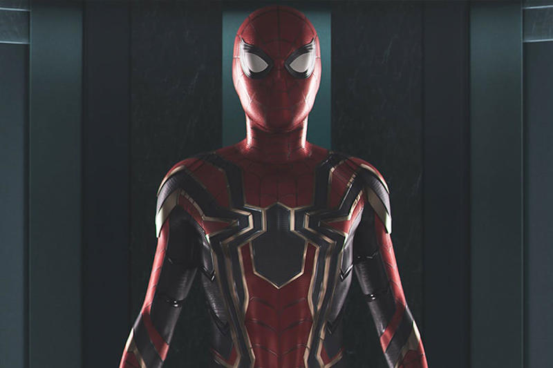 Avengers: Infinity War Iron Spider Features Spider-Man Homecoming Waldoes