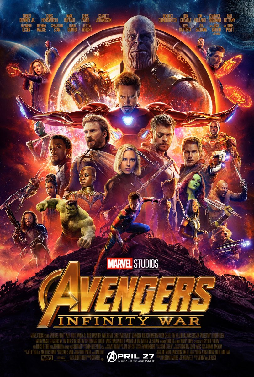 Avengers: Infinity War Trailer Thanos Marvel Cinematic Universe spiderman thor black panther