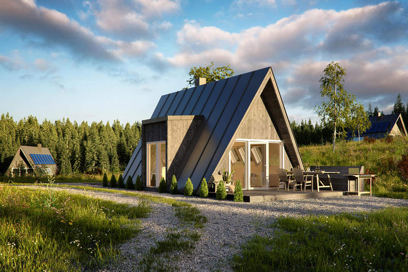 Avrame A-Frame Home Kits architecture living houses