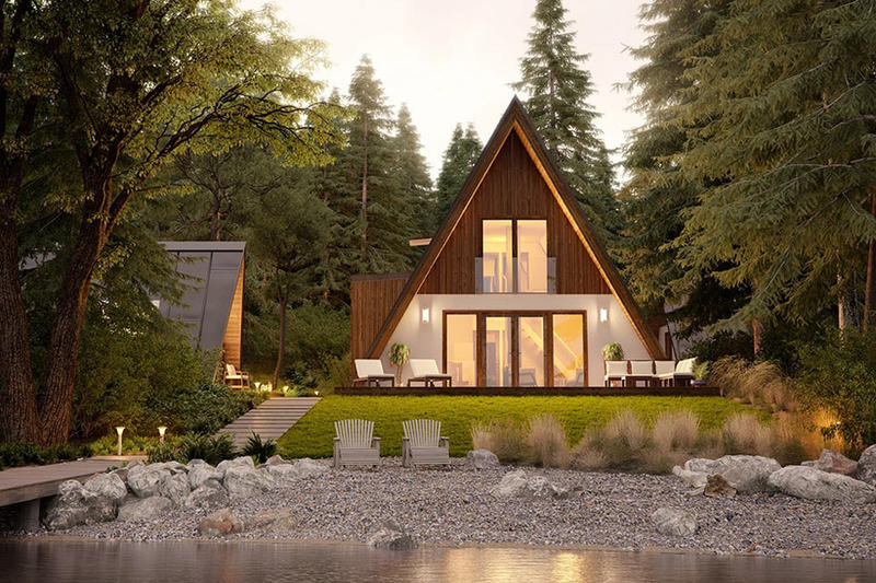 Avrame A-Frame Home Kits architecture living houses