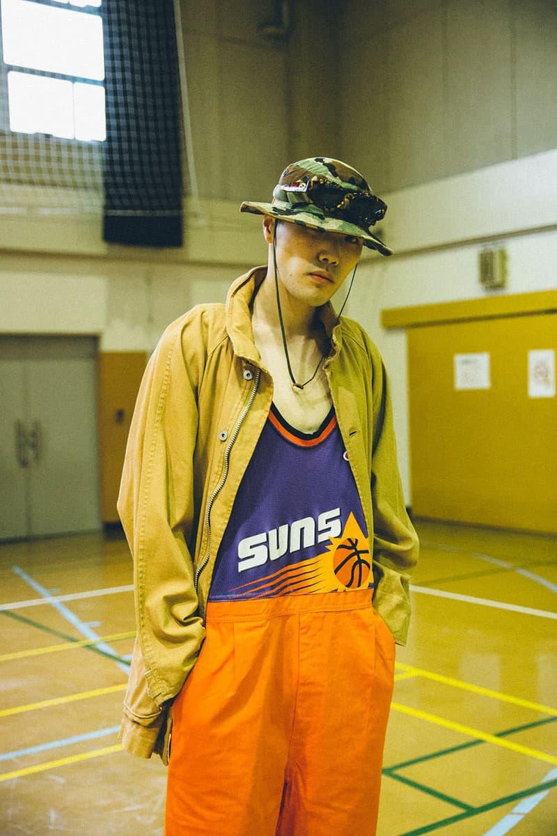 Awesome Boy vintage japan harajuku remade sportswear nike adidas track suit jersey rebuild diy retro spring summer 2018 lookbook