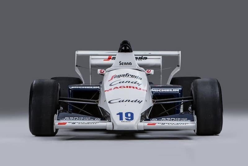 Ayrton Senna Monaco Grand Prix Alain Prost Toleman-Hart Bonhams F1 Formula One racing automotive cars rare auction for sale Monaco Sale Monte Carlo