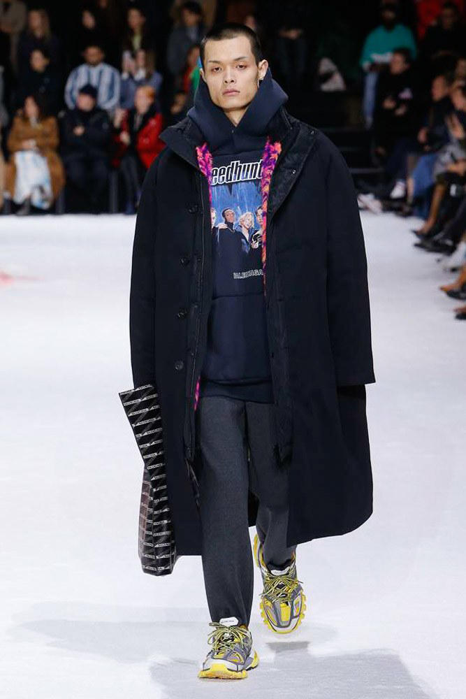 Balenciaga Fall 2018 runway collection show demna gvasalia men women paris fashion week triple s sneaker runner shoe footwear