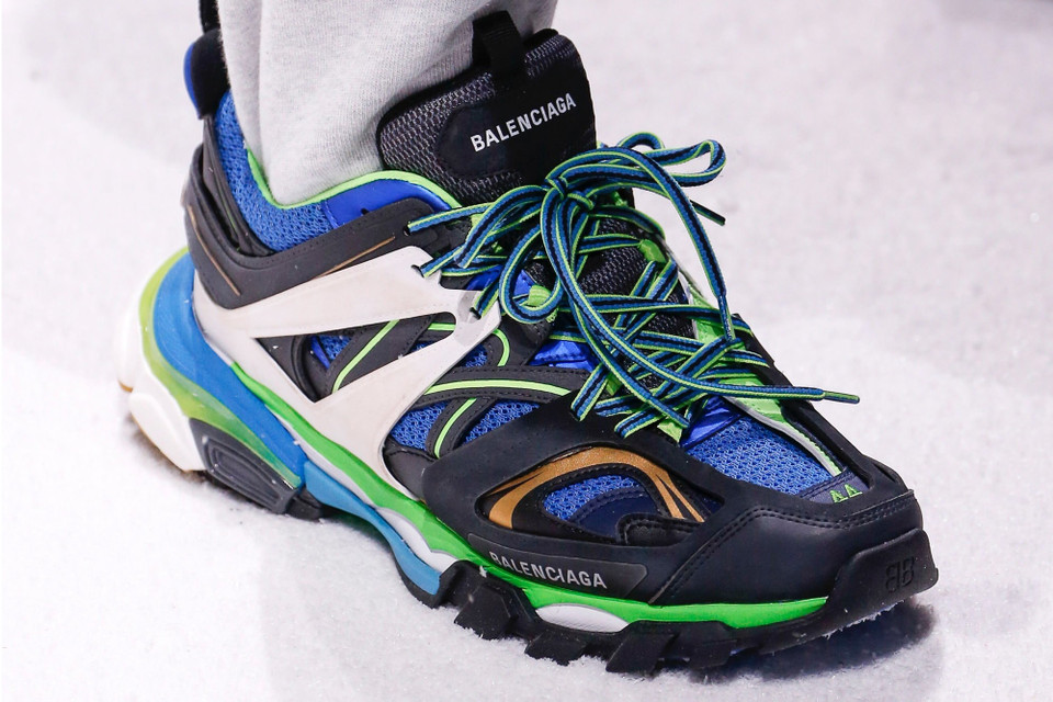 9f4dafbba47b Balenciaga Fall Winter 2018 Hiking Sneakers