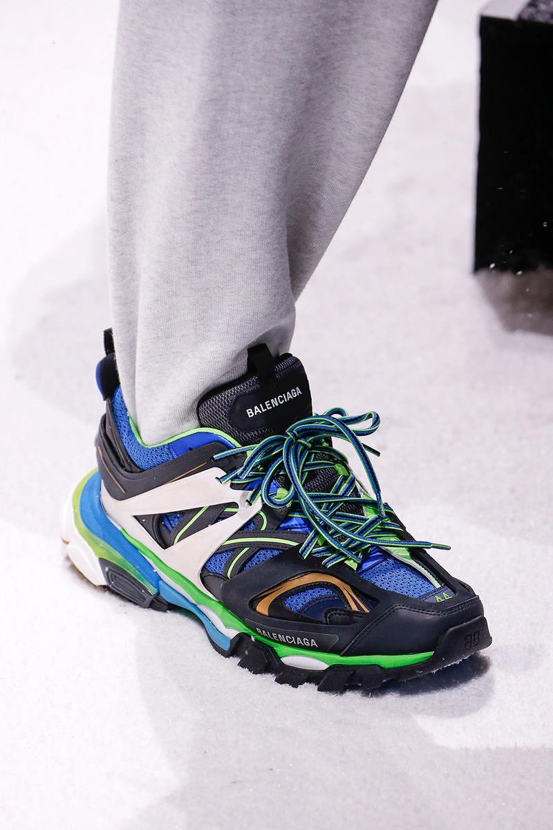 Balenciaga Fall/Winter 2018 Sneakers Paris Fashion Week Speed Runner Triple S